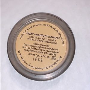 tarte Makeup - tarte powder foundation